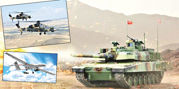 Türkiye'nin silah cirosu artıyor
