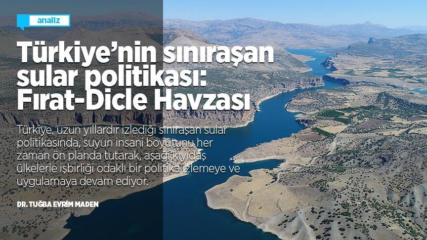 Türkiye'nin sınıraşan sular politikası: Fırat-Dicle Havzası