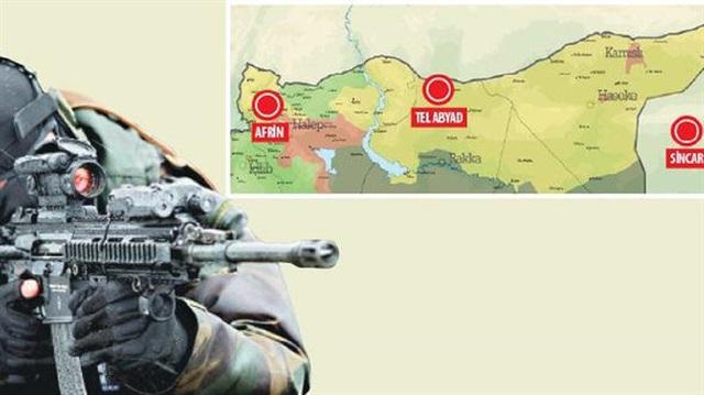 Türkiye'nin Suriye ve Irak stratejisi belli oldu