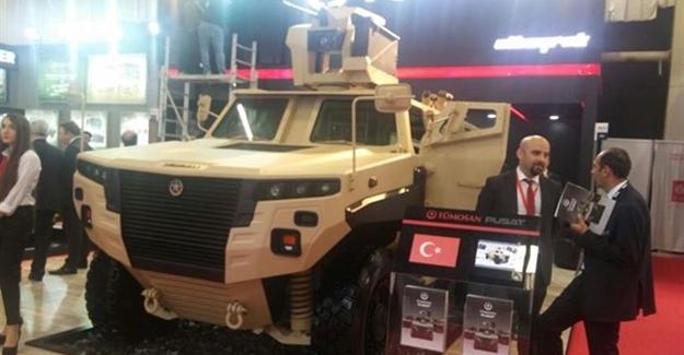 Türkiye'nin tamamen yerli üretim zırhlı aracı: TÜMOSAN PUSAT