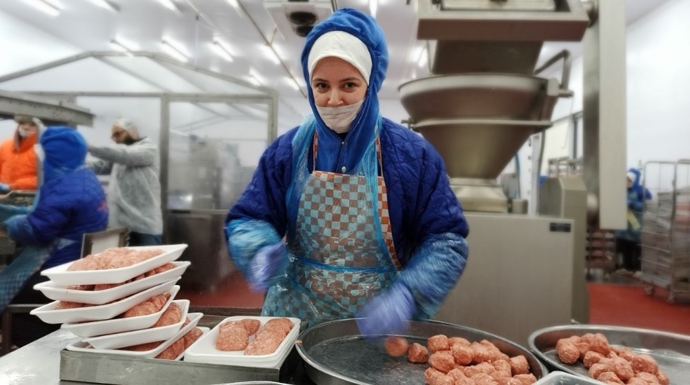 Türkiye'nin tek köfte fabrikası