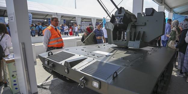 Türkiye'nin yeni mini tankı görücüye çıktı