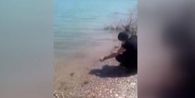 Türkiye'ye 'biyolojik saldırı' şüphesi! Esrarengiz ABD'li göle kırmızı balık bırakırken yakalandı