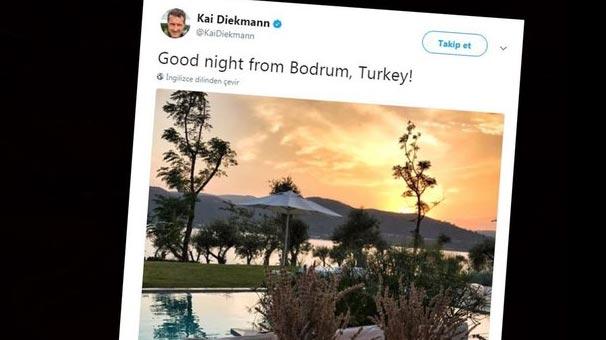 'Türkiye'ye gitmeyin' dedi! Türkiye'den fotoğraf...
