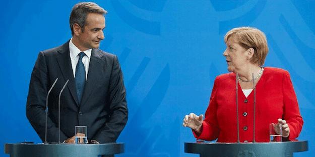 Türkiye'ye karşı asker çıkarmıştı... Merkel'den Miçotakis'e uyarı