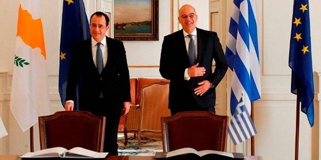 Türkiye'ye karşı 'cephe' açtıklarını duyuran Yunanistan ve Güney Kıbrıs'tan küstah açıklama!