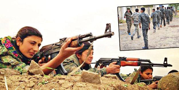 Türkiye'ye karşı hazırlık! YPG yine çocukları kalkan yapıyor