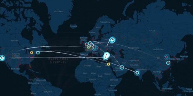 Türkiye'ye siber saldırı | ABD, Rusya, Çin ve Hollanda'nın siber tehdidi