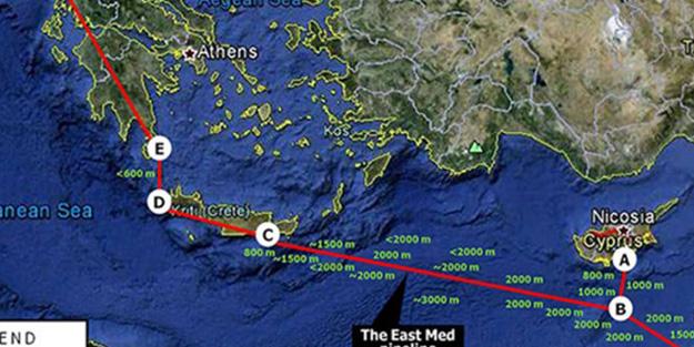 Türkiye'yi bypass eden haritaya sert tepki!