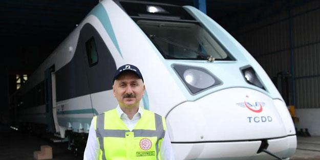 Türkiye'yi heyecanlandıran gelişme! Milli elektrikli tren bu tarihte raylarda
