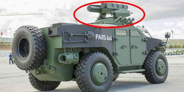 Türkler yaptı, tanksavarların korkulu rüyası olacak!