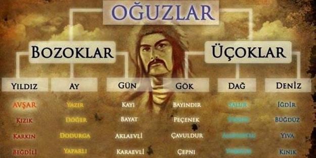 Türklerin soy ağacı - FOTO
