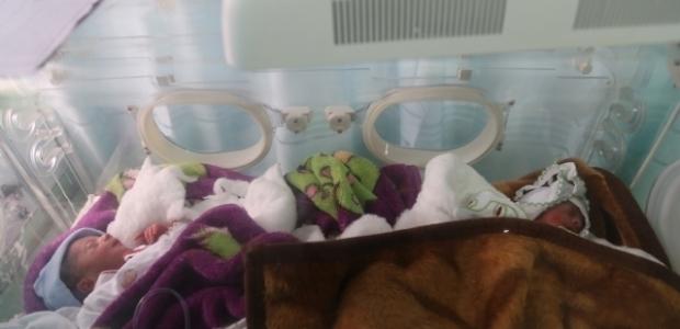 Türkmen kadın altız bebek doğurdu
