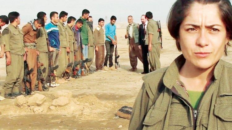 Türkmen kentine terör örgütü PKK kampı!