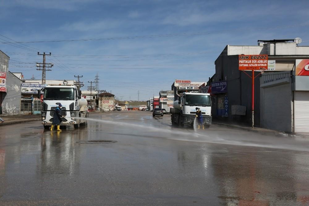 Tuşba Belediyesinden temizlik seferberliği