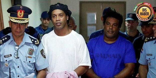 Tutuklu Ronaldinho'ya Koronavirüs darbesi