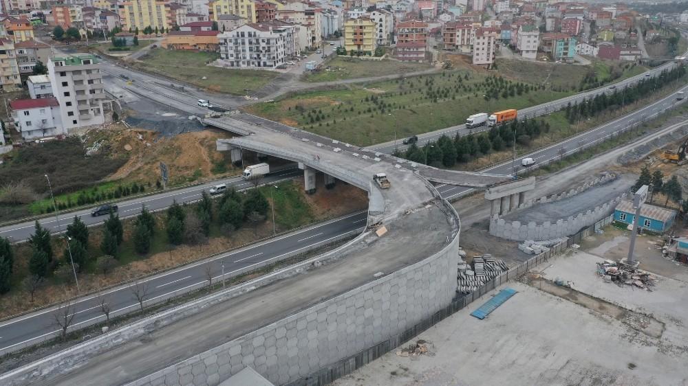 Tuzla Şifa - Çayırova bağlantı köprüsünde imalatlara devam