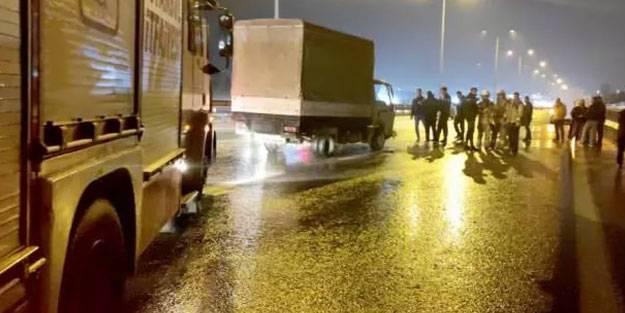 Tuzla'daki trafik kazasında bir kişi yaralandı