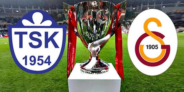 Tuzlaspor Galatasaray kupa maçı muhtemel 11'leri