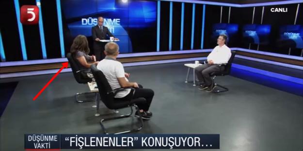 """TV5, """"fişlendi"""" diye yayına çıkardığı Nevşin Mengü'yü sırtından gösterdi"""