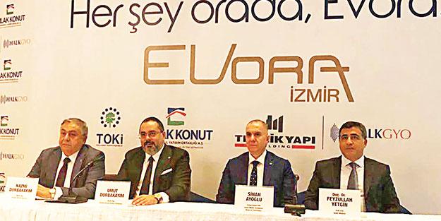 Üç dev şirketten 'Evora' için güç birliği
