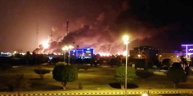 Üç ülkeden flaş 'Aramco' açıklaması! İran'ı hedef gösterdiler