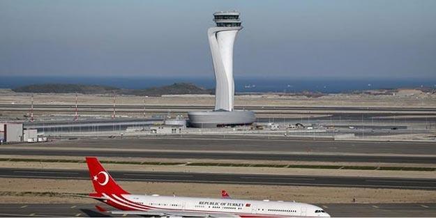 Uçuş yapanlar bu habere dikkat! İşte İstanbul Havalimanı 7/24 uçuş haritası