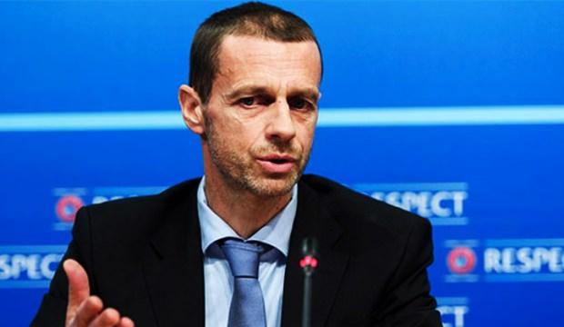 UEFA Başkanı konuştu!