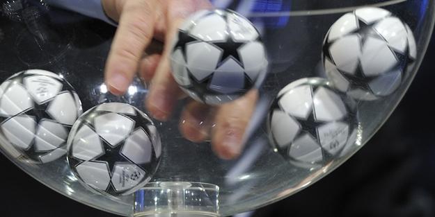UEFA Şampiyonlar Ligi kura çekimi yapıldı!