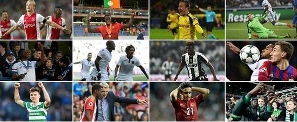 UEFA'nın Süper Yetenek listesi