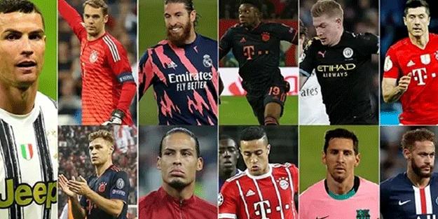 UEFA'da 'Yılın 11'i belli oldu!