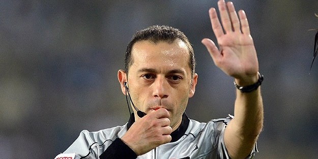 UEFA'dan Cüneyt Çakıra dev görev