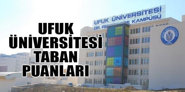 Ufuk Üniversitesi taban puanları 2019 | Ankara Ufuk Üniversitesi başarı sıralaması