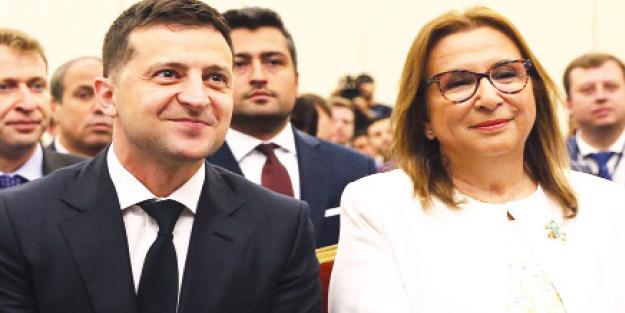 Ukrayna ile ticarette hedef 10 milyar dolar