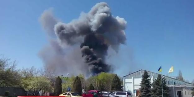 Ukrayna'da gerilimi tırmandıran patlama!