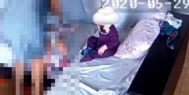 Bir ülkeyi karıştıran rezillik! Yüzüne yastık bağladığı çocuğu öldürdü