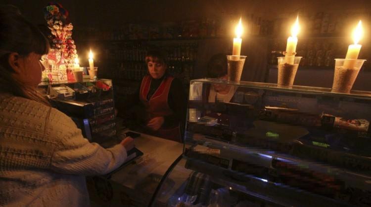 Ukrayna'da elektrik krizi!