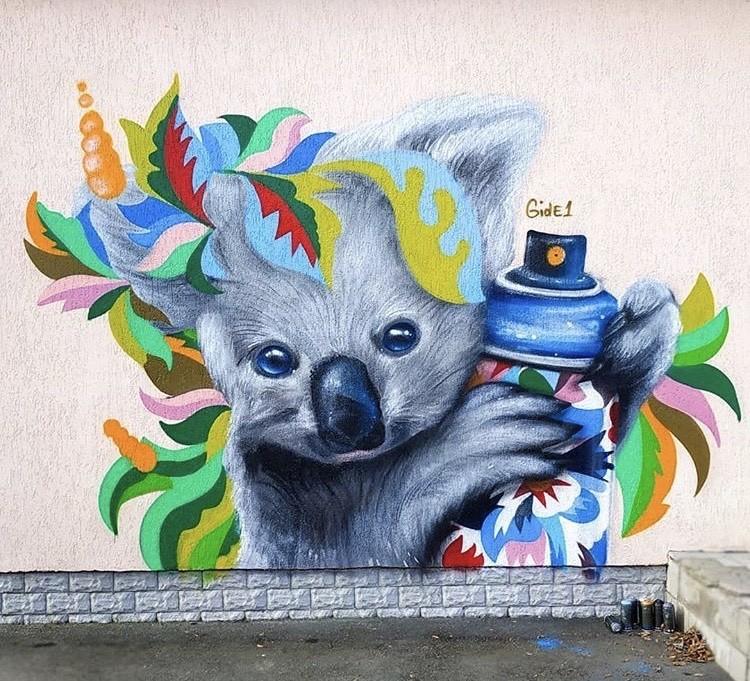 Ukrayna'da Korona virüsü sanatı da etkiledi