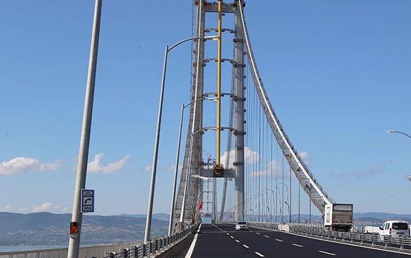 Ulaştırma ve Altyapı Bakanlığından 'Osmangazi Köprüsü geçiş ücreti' açıklaması