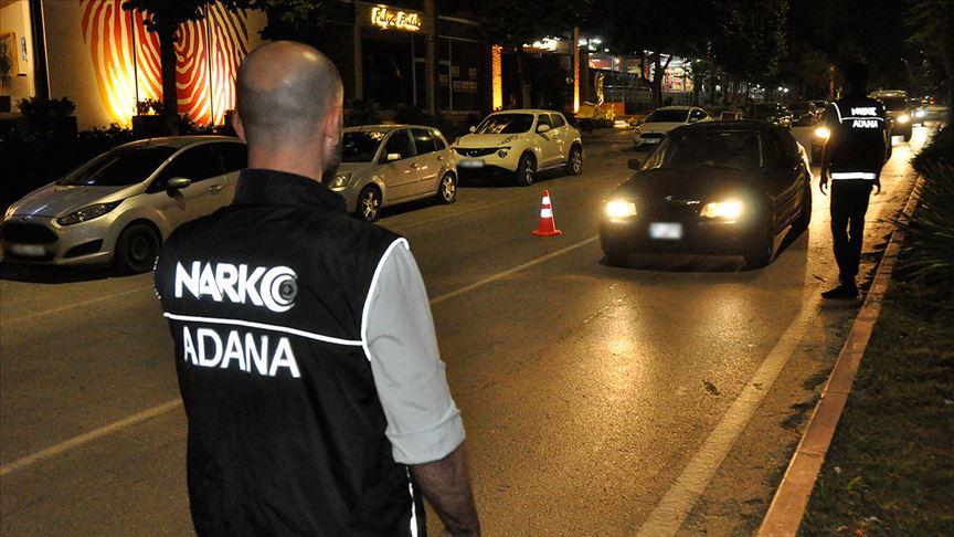 Ülke genelinde narkotik suçlarından aranan 475 kişi yakalandı