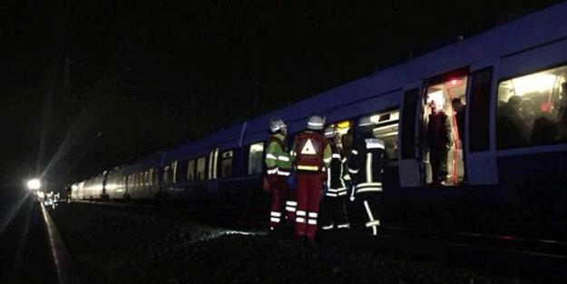 Ülke şokta… Tren kazası: En az 50 kişi yaralandı