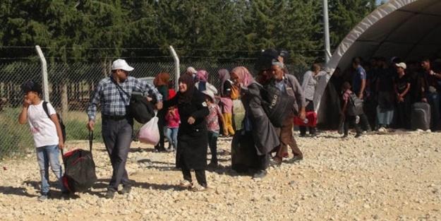 Ülkesine dönen Suriyelilerin sayısını 15 bini aştı