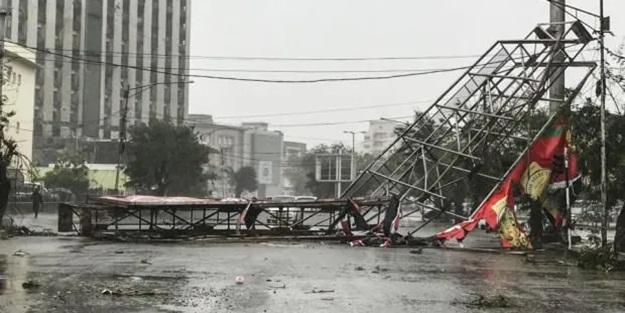 Ülkeyi Eloise Kasırgası vurdu!
