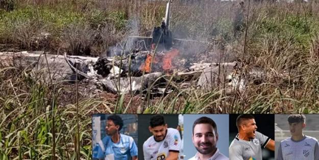 Ülkeyi sarsan olay: Kulüp başkanı ve futbolcuları taşıyan uçak düştü!