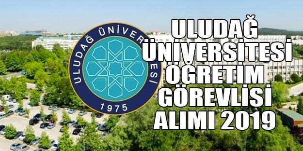 Uludağ Üniversitesi öğretim görevlisi ilanı 2019