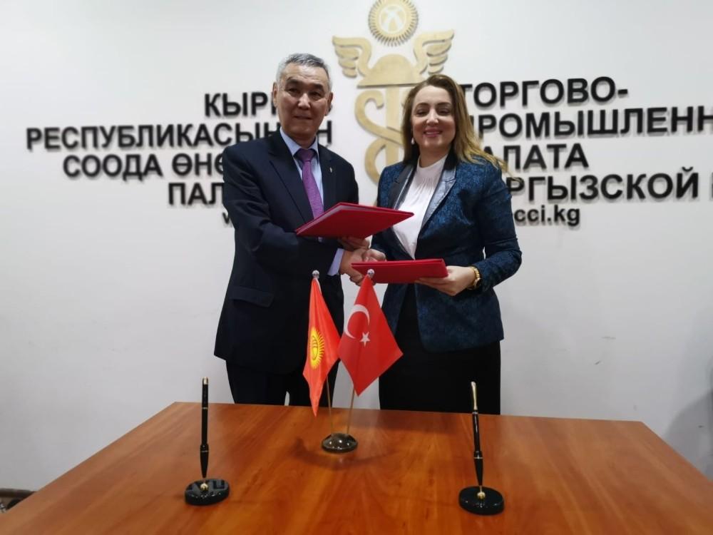 ULUSKON, Bişkek Sanayi ve Ticaret Odası ile anlaşma imzaladı