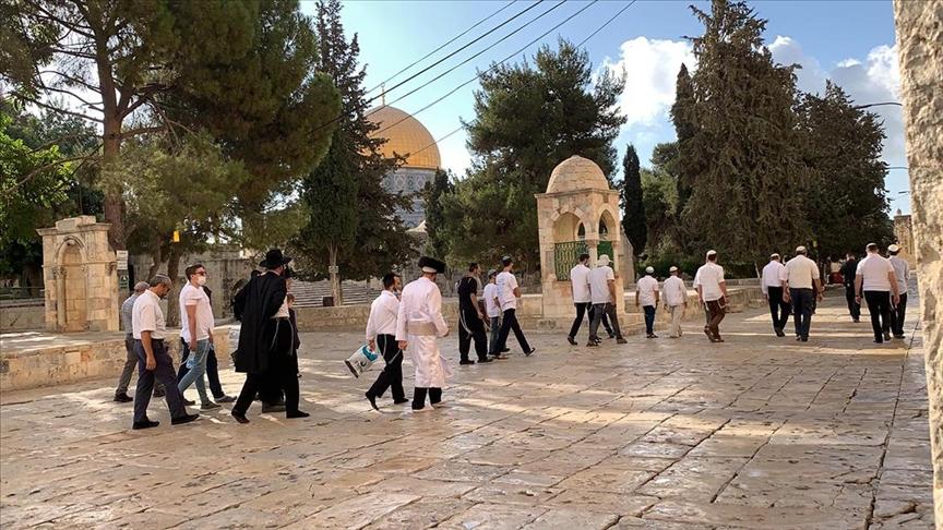 Uluslararası Kudüs Vakfı'ndan fanatik Yahudilerin baskınlarına karşı Mescid-i Aksa'yı savunma çağrısı