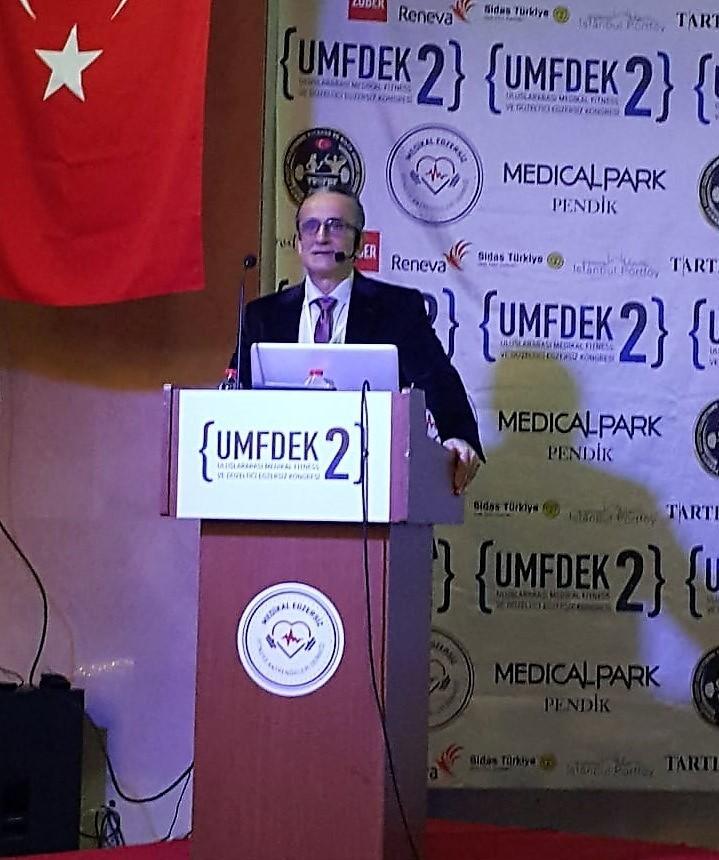 Uluslararası Medikal Fitness ve Düzeltici Egzersiz Kongresi İstanbul'da yapıldı