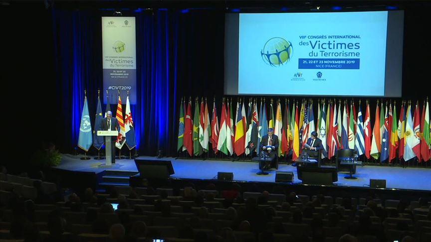 'Uluslararası Terör Kurbanları Kongresi' Fransa'da devam ediyor