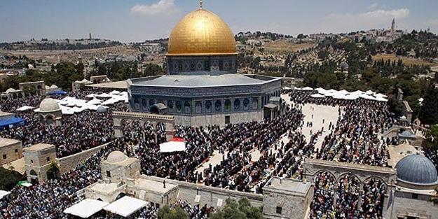 Ümmet Kudüs için ayakta